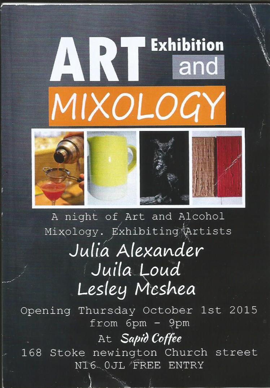 art and mixology